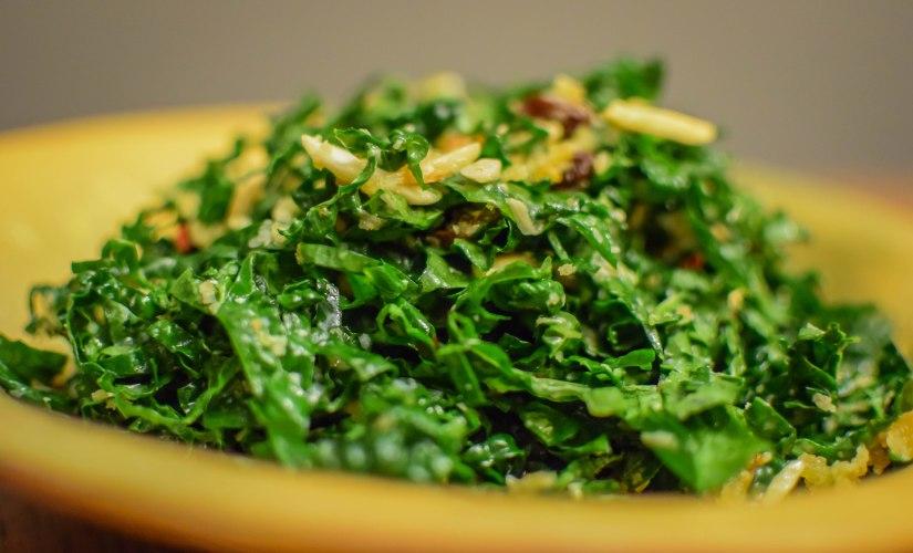 Hyperbole Kale Salad