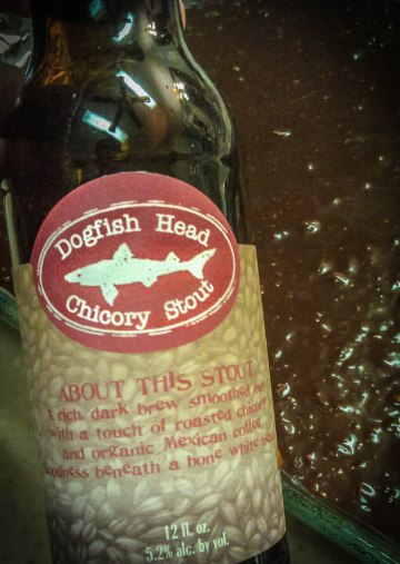 Dogfish Head Chicory Stout is a great pair with infusing brownies