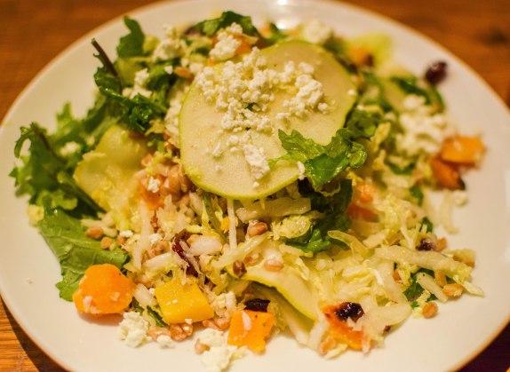 Autumn Harvest Kale Salad